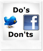 Do's and don'ts of social